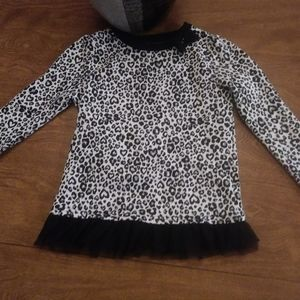 Epic Threads leopare print long sleeve